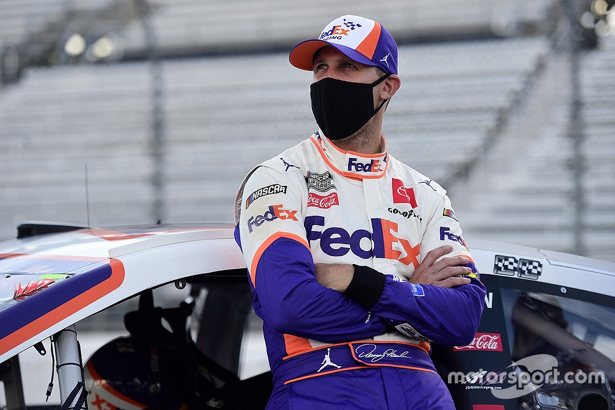 "Hamlin: ""We have a race-winning-car"" despite runner-up finish"