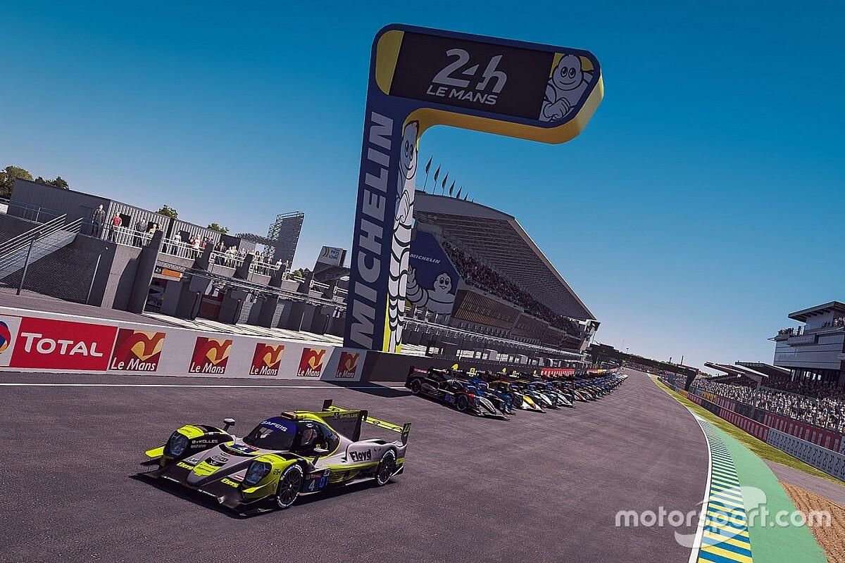 バーチャル・ル・マン24時間レースがスタート! トヨタ8号車にいきなり試練
