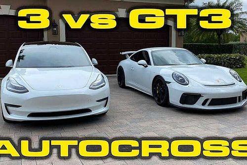 Tesla обогнала Porsche в гонке на выносливость