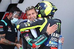 Quartararo sintió la presión de sustituir a Rossi en Yamaha