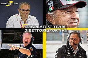 F1 Greatest Team: Domenicali è il direttore sportivo