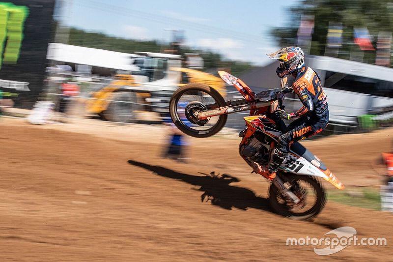 Prado se mete en el top 10 en el MXGP de Letonia