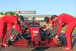 Ferrari: ecco il video di Leclerc a Maranello sulla SF1000