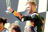 「信じられないし、怖い!」KTMビンダー、デビュー3戦目の初優勝に感無量