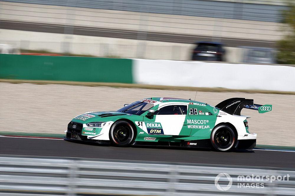 DTM Lausitzring: Yağmurlu sıralama seansında pole pozisyonu Müller'in!