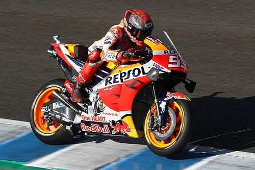 Маркес провел первые тесты после прошлогодней аварии