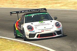 Giassi supera expectativas em estreia no Mundial de eSports da Porsche