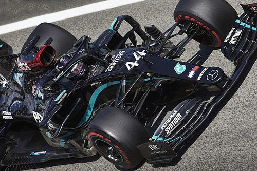 Mercedes выиграла у всех полсекунды на третьей тренировке ГП Испании