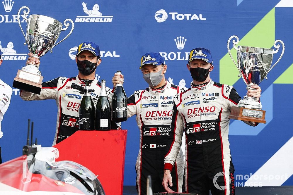 Winning Toyota drivers expected to be third at Spa