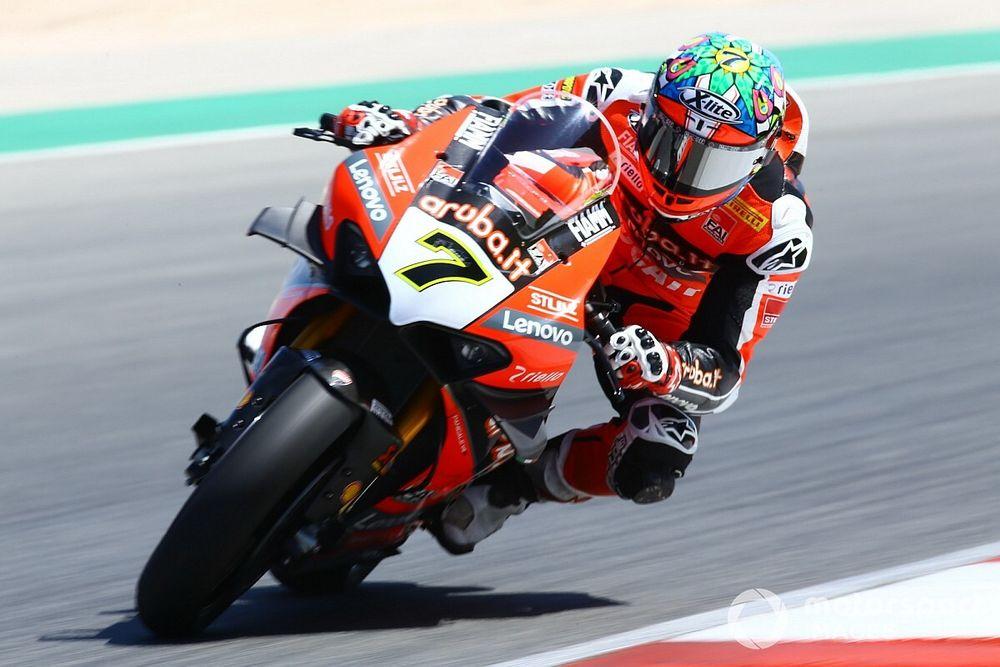 SBK, Aragon, Libere 1: Davies guida la doppietta Ducati