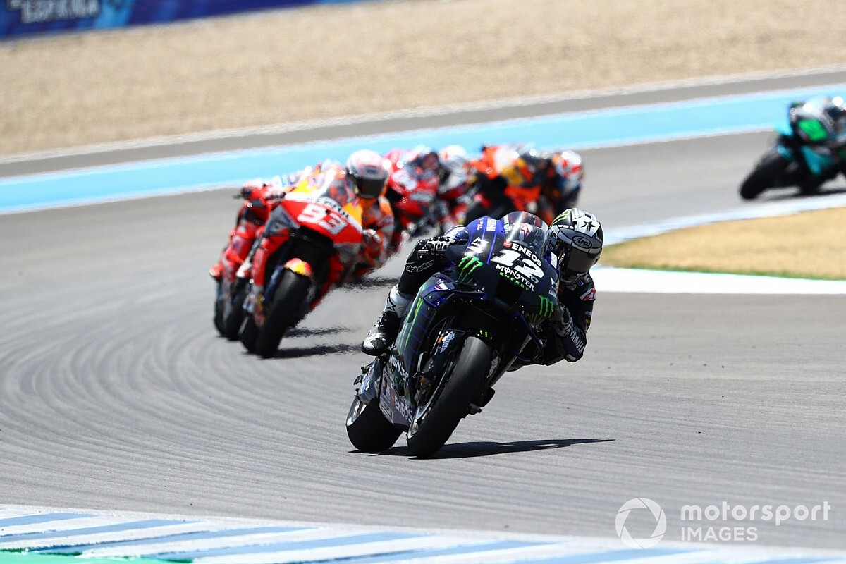 "Vinales: Tyre gamble made Jerez a ""survival race"""