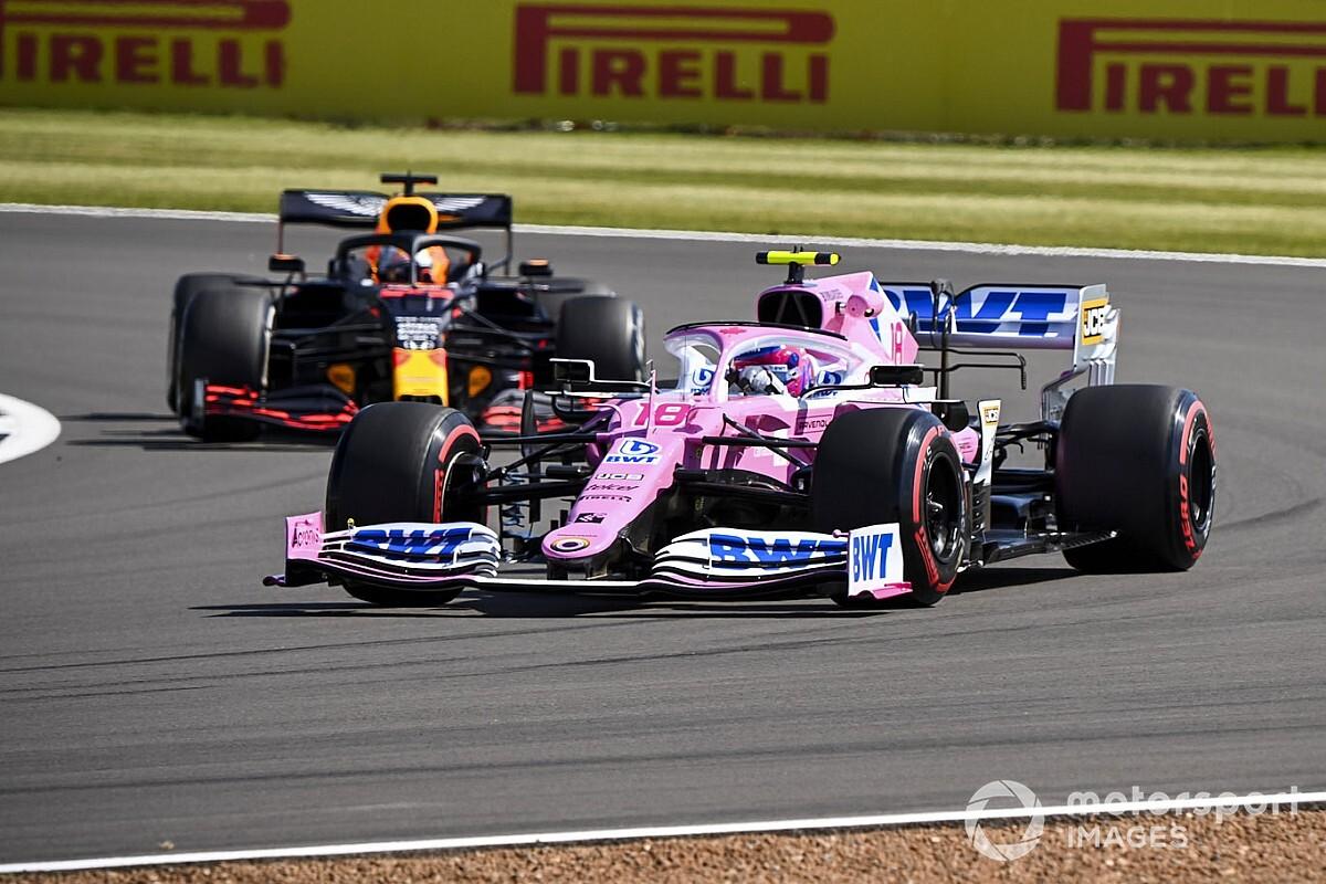 Gran Bretaña F1: Stroll supera a todos en la FP2; Vettel, con problemas