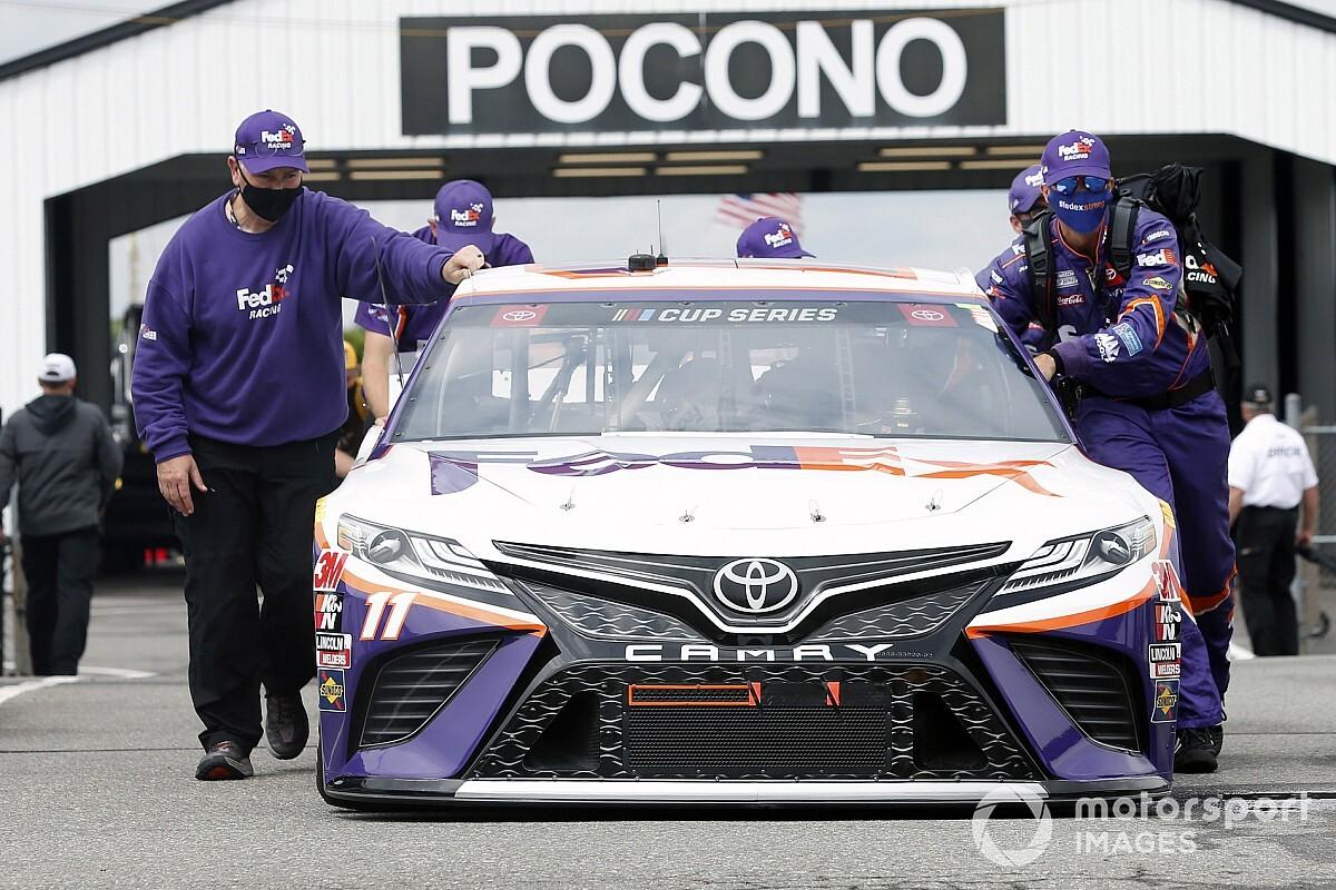2020 NASCAR Cup Pocono 350 Sunday race results