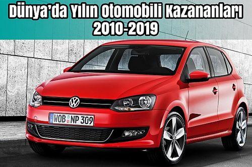 Dünya'da Yılın Otomobili Kazananları 2010-2019   Bilgin Olsun