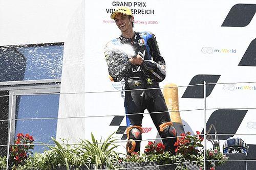 Marini secondo e contento: è il nuovo leader in Moto2