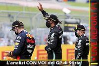 LIVE Report F1: commentiamo CON VOI il GP di Stiria