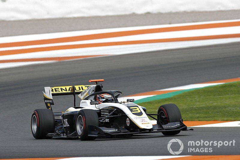 Lundgaard stays on top in Valencia F3 test