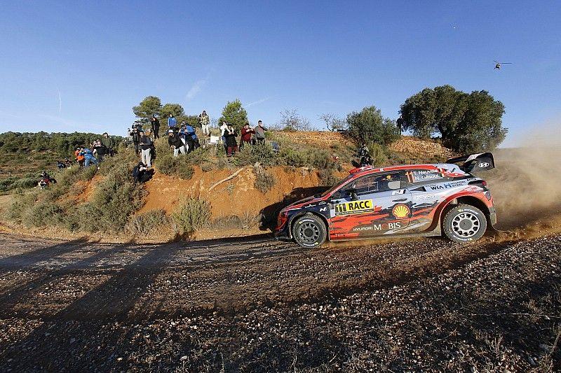 Tanak amenaza a los Hyundai tras el sábado del Rally de Catalunya