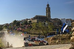 Catalunya WRC: Neuville stretches lead, Tanak into third
