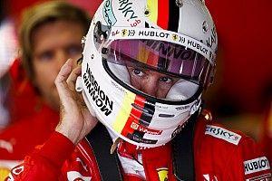 Vettel, evinde geçirdiği vakitten keyif alıyor