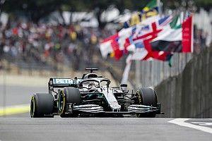 Hamilton lidera una muy igualada FP3 antes de la clasificación de Brasil