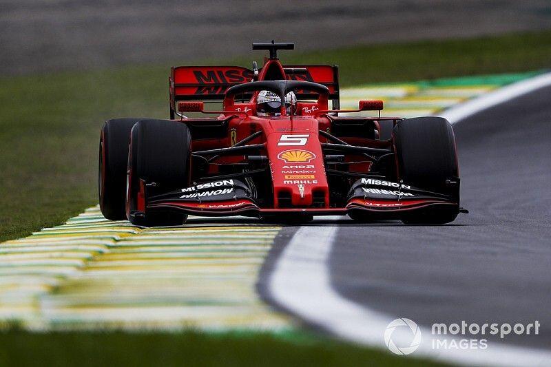 Brazilian GP: Vettel pips Leclerc by 0.021s in second practice