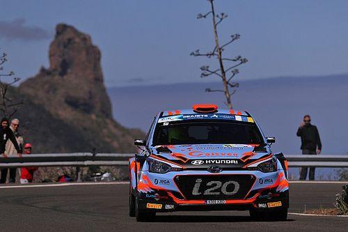 Rally Islas Canarias tydzień wcześniej