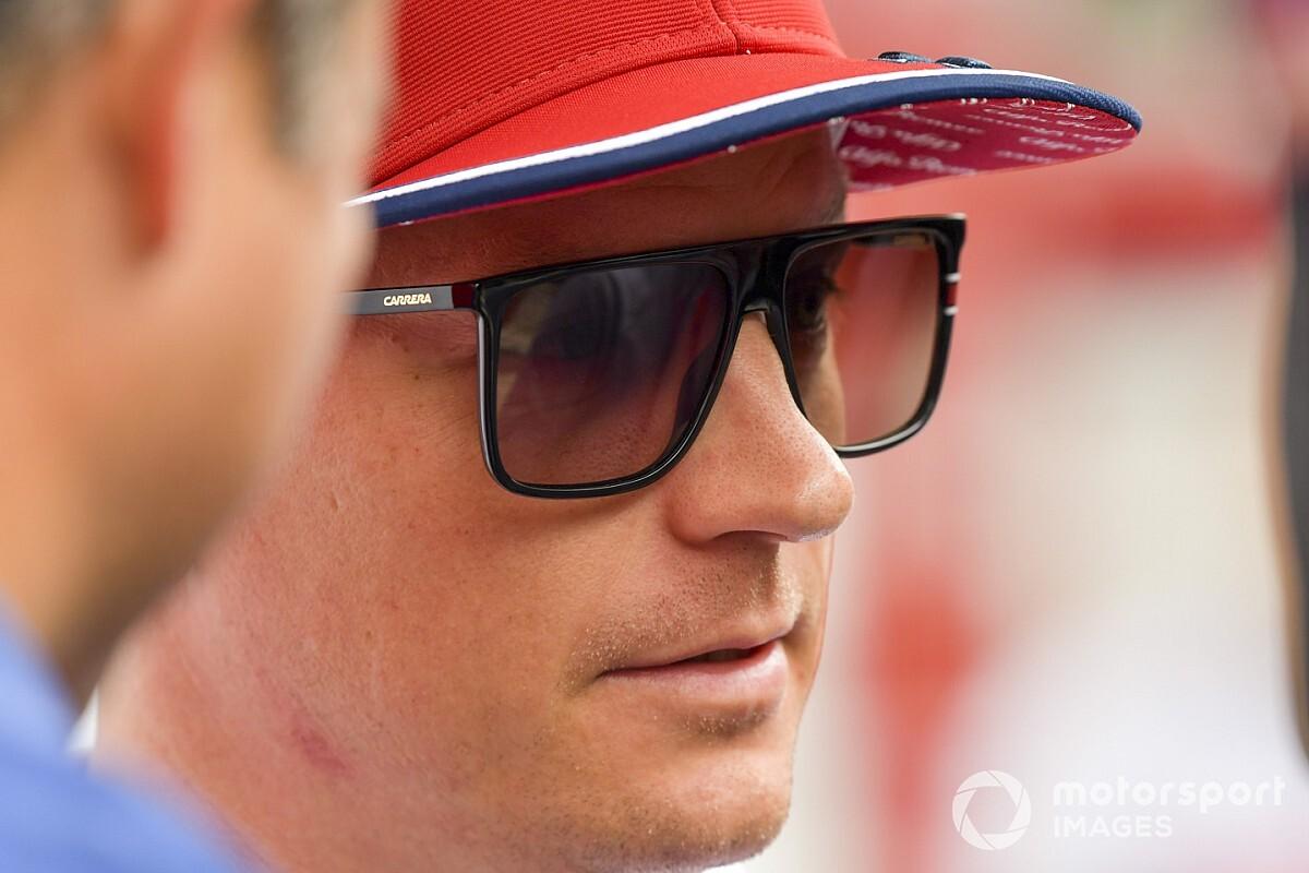 Raikkönen jégkádban lazított az F1-es visszatérés előtt