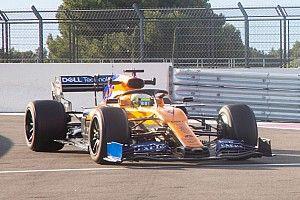 McLaren a bouclé 145 tours avec les pneus 18 pouces Pirelli