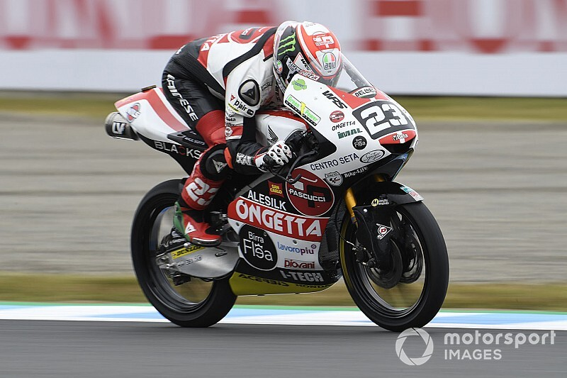 Moto3 Motegi: Antonelli verrast met pole-position