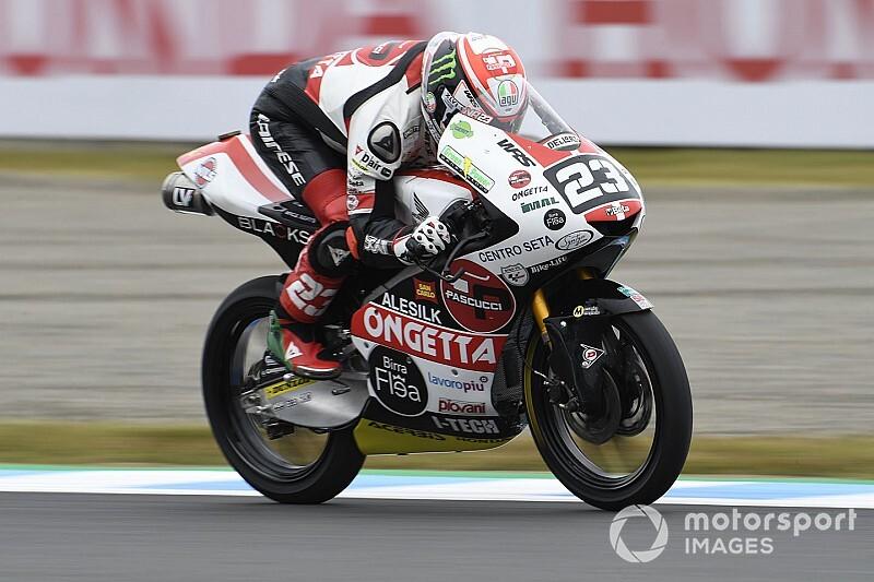 Moto3日本予選:アントネッリPP獲得。鈴木竜生3番手フロントロウ