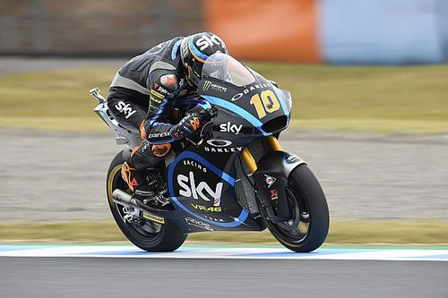 Motegi Moto2: Marini passes Luthi for back-to-back wins