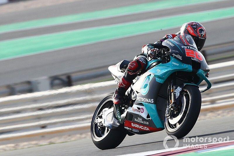 Test Losail, J2 - Quartararo replace Yamaha au top, chute pour Márquez