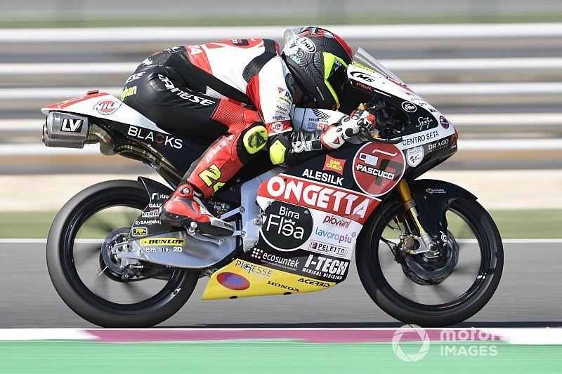 Qatar Moto3: Suzuki takes first pole of 2020 by 0.008s