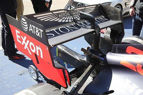 Red Bull: test sulle flessioni dell'ala posteriore