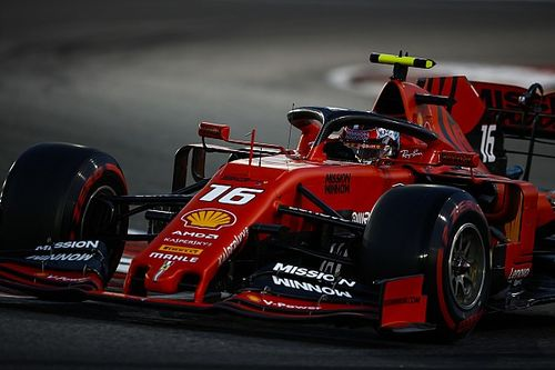 Reportan a Ferrari a los comisarios por el auto de Leclerc