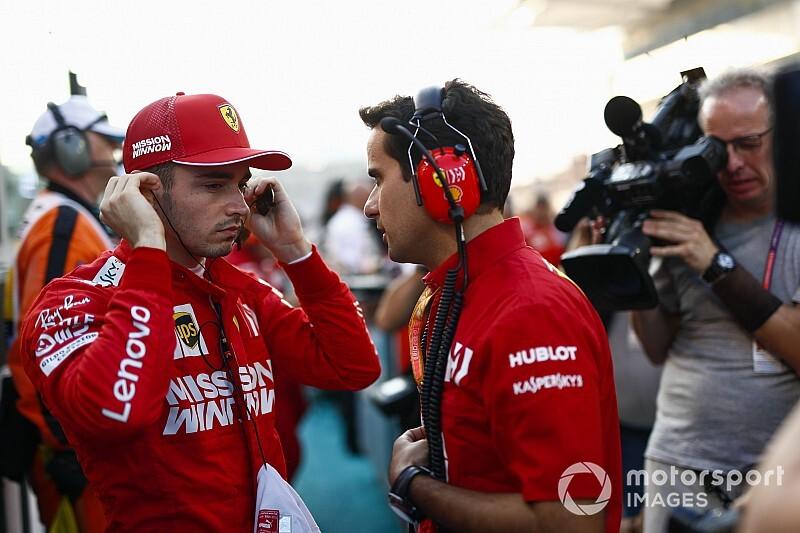 """Ferrari: """"Nagy eredmény, hogy Leclerc Vettel előtt végzett a bajnokságban"""""""