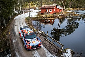 Breen w Rajdzie Finlandii