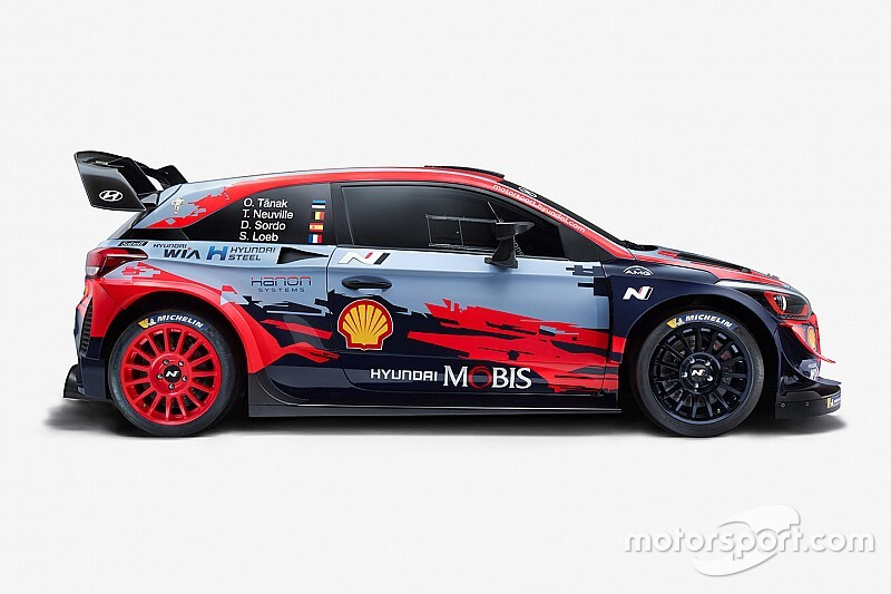 Hyundai launches 2020 WRC challenger