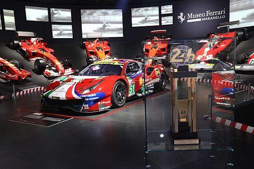 Ferrari: 24 Hours of Le Mans Virtual col box nel Museo!
