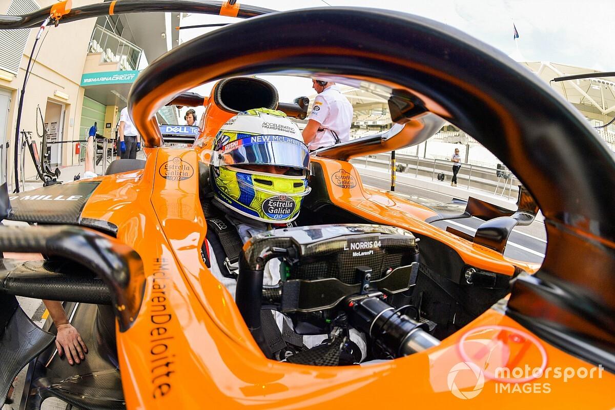 Norris annyira élvezi az F1-et, hogy minden más fájdalom és gyötrelem számára