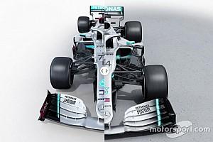Vergleich Formel-1-Autos 2020 vs. 2019: Mercedes