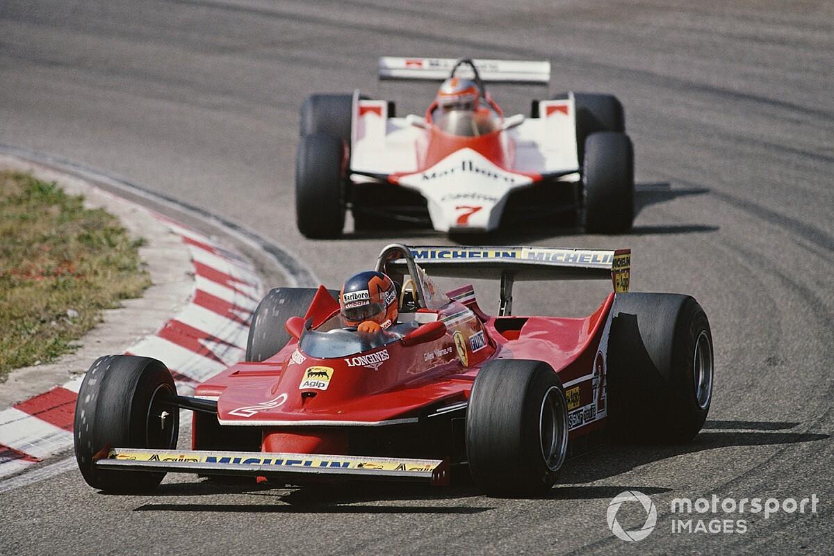Gilles Villeneuve F1-es pályafutásának autói: különleges darabok