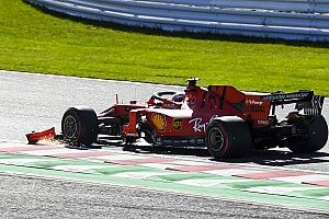 McLaren en colère après Ferrari, dont les débris ont touché Norris