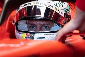 """Vettel: """"In aria rarefatta SF90 molto veloce"""""""