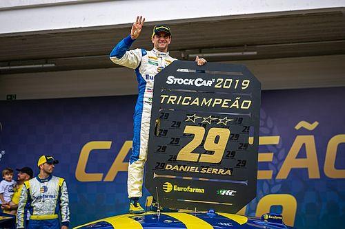 Depois de título de Serra, relembre todos os campeões e seus carros