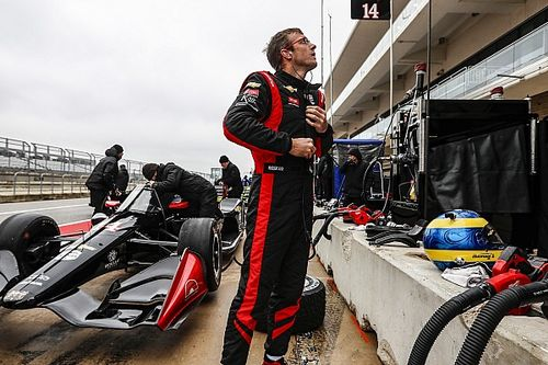 Bourdais leads test with three hours to go, Palou stars