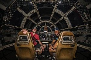 Ryan Blaney, Bubba Wallace take Star Wars detour to Daytona