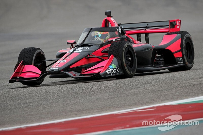 Palou brilla en el test de COTA; Power lidera