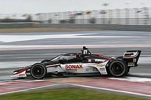 Van Kalmthout aan kop op regenachtige eerste IndyCar-testdag